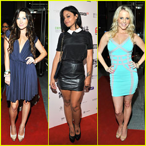 Fefe Dobson & Ashley Leggat: Rising Stars Producers Ball at TIFF 2012
