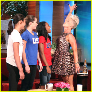 Gabby Douglas To Write Memoir; Gymnasts on 'Ellen' Sneak Peek!