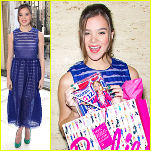 Hailee Steinfeld is a Barbie Girl!