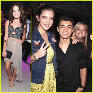 Hailee Steinfeld: Zendaya's Sweet 16 with Kelli Berglund &#038; Kylie Jenner