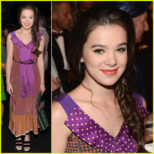 Hailee Steinfeld: Marc Jacobs Braided Beauty