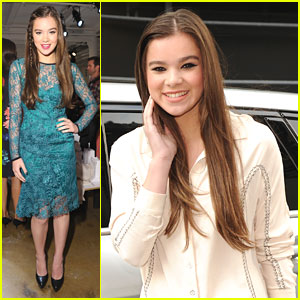 Hailee Steinfeld: Peter Som Fashion Starlet