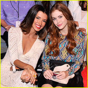 India de Beaufort & Holland Roden: Front Row at Mara Hoffman!