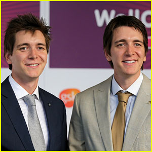 James & Oliver Phelps: WellChild Awards 2012