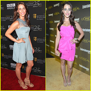 Jessica Lowndes: BAFTA Tea & EW Pre-Emmy Events