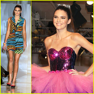 Kendall Jenner: Tumbler & Tipsy Runway Model