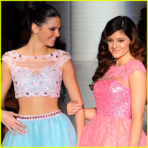 Kendall & Kylie Jenner: Sherri Hill Fashion Show Models!