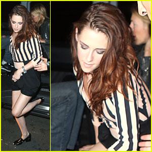 Kristen Stewart: La Fidelite Dinner