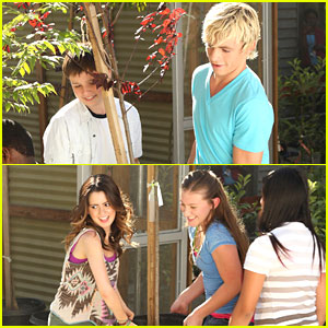 Laura Marano & Ross Lynch: Friends For Change at San Pedro Street Elementary School!