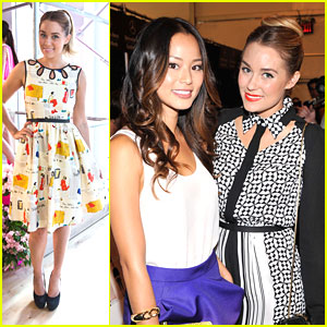 Lauren Conrad: Kate Spade Sweetie at New York Fashion Week 2012