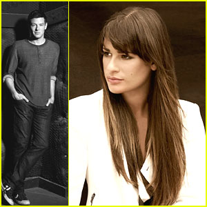 Lea Michele & Cory Monteith: Faces of Fox Campaign!