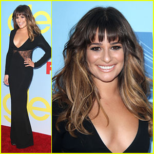 Lea Michele: 'Glee' Premiere Pretty