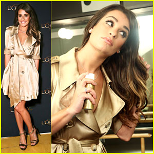 Lea Michele: L'Oreal Paris Shoot!