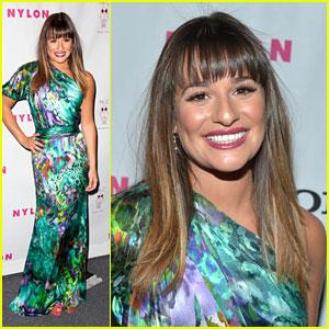 Lea Michele: Nylon Mag Dinner