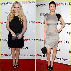 Leven Rambin & Alexandra Daddario: Teen Vogue Young Hollywood Party