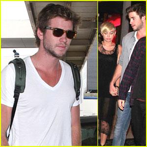 Liam Hemsworth & Miley Cyrus: Mercato di Vetro  Twosome