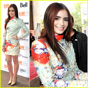 Lily Collins: 'Writers' Premiere at TIFF