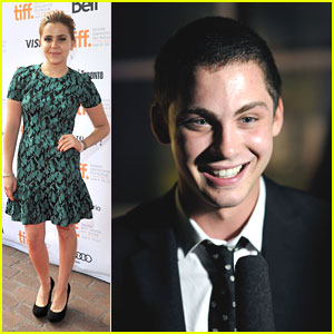 Logan Lerman: 'Perks' Premiere at TIFF with Mae Whitman