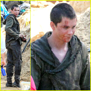 Logan Lerman: First Pics From 'Noah'