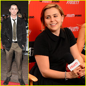 Logan Lerman: 'Writers' Premiere at TIFF