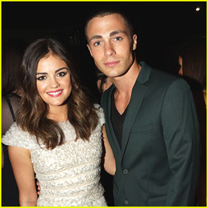 Lucy Hale & Colton Haynes: Nylon Dinner Duo