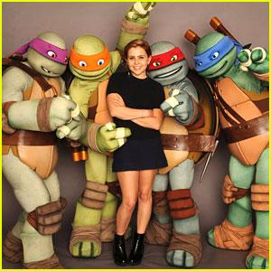 Mae Whitman: 'Teenage Mutant Ninja Turtles' Premieres TODAY!