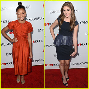 Amandla Stenberg & McKaley Miller: Teen Vogue Party People
