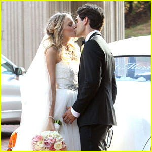 Melissa Ordway & Justin Gaston: Just Married!
