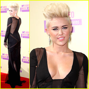 Miley Cyrus: MTV VMAs 2012