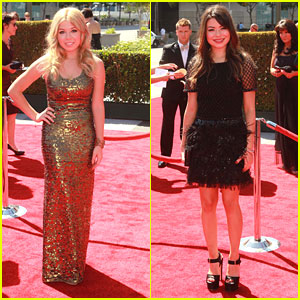 Miranda Cosgrove: Creative Arts Emmys with Jennette McCurdy