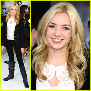 Peyton List: 'Frankenweenie' Premiere!