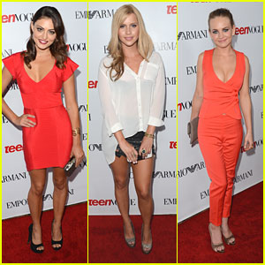 Phoebe Tonkin & Britt Robertson: Red Hot at Teen Vogue Young Hollywood Party