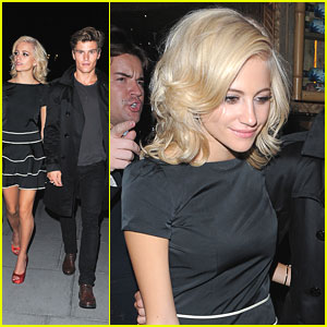 Pixie Lott: Fashion's Night Out with Oliver Cheshire