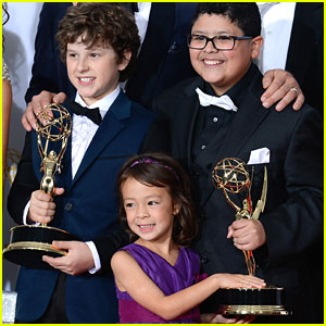 Rico Rodriguez & Nolan Gould - Emmy Awards 2012