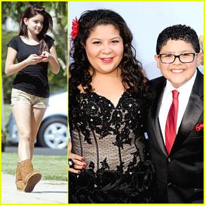 Rico Rodriguez: ALMA Awards 2012 with Sister Raini