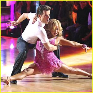 Sabrina Bryan & Louis Van Amstel: Cha Cha on 'Dancing With The Stars: All-Stars'