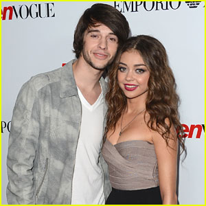 Sarah Hyland & Matt Prokop: Teen Vogue Party Pair