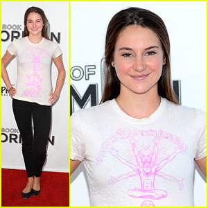 Shailene Woodley: 'Book of Mormon' Opening Night