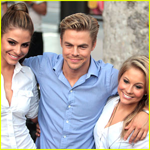 Shawn Johnson Bings It On with Derek Hough