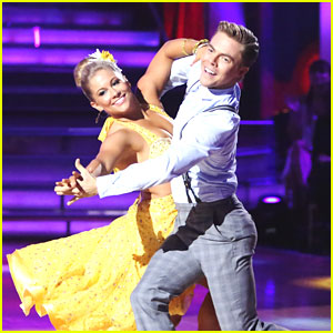 Shawn Johnson & Derek Hough: Foxtrot on 'Dancing With The Stars'