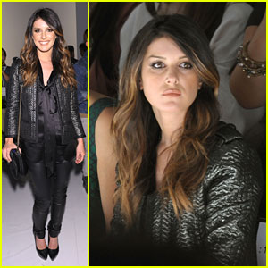Shenae Grimes: Tracy Reese Front Row