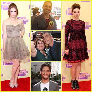 Teen Wolf Cast: MTV VMAs 2012!