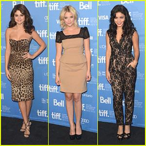 Vanessa Hudgens & Ashley Benson: TIFF Photo Call with Selena Gomez
