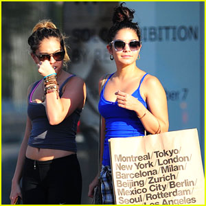 Vanessa Hudgens: Sunday Shopping with Sister Stella