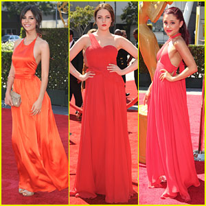 Victoria Justice &#038; Ariana Grande: Creative Arts Emmys 2012