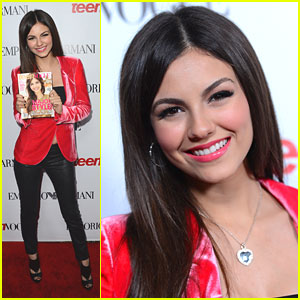 Victoria Justice: Teen Vogue Young Hollywood Party