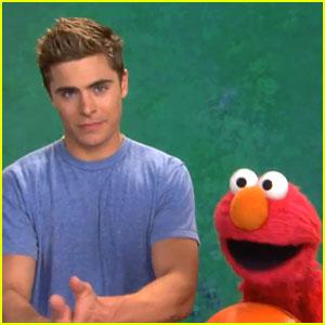 Zac Efron Teaches Elmo Patience on 'Sesame Street' - WATCH NOW