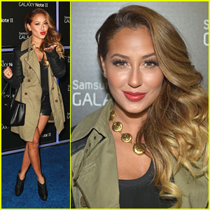 Adrienne Bailon: Samsung Launch Lady