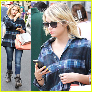 Ashley Benson: Nordstrom Shopper