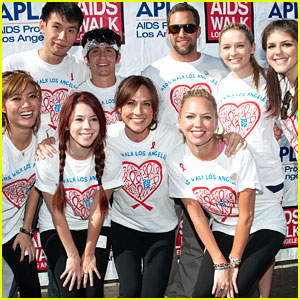 'Awkward' Cast Walks For AIDS in Los Angeles